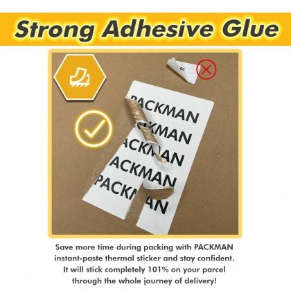 Fold Thermal Sticker Waybill - 4 Stacks/Box (2000 Pcs/Stack)