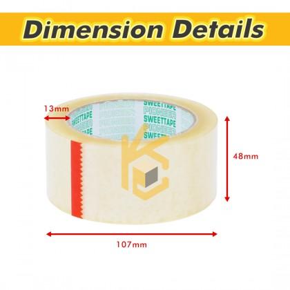 48mm x 90y x 45 micron OPP Tape - 96 Unit/Box