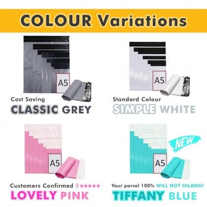CB3-PK(P) 30cm*44cm Lovely Pink Courier Bag With Pocket - 800 Pcs/Box