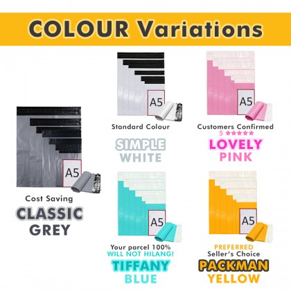 CB5-PK 40cm*55cm Lovely Pink Courier Bag No Pocket - 500 Pcs/Box