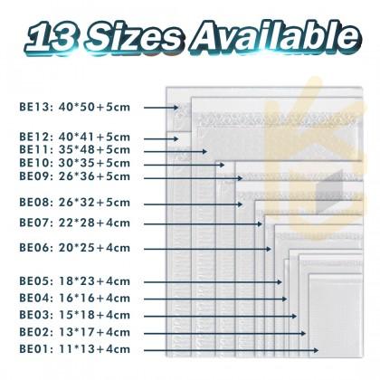 BE06-WT 20*25+4cm White Bubble Envelope Bubble Mailer - 400pcs/Box