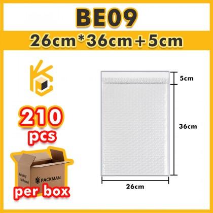 BE09 26*36+5cm Bubble Envelope Bubble Mailer - 210pcs/Box