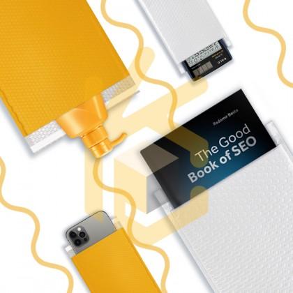 BE01-YL 11*13+4cm Yellow Bubble Envelope Bubble Mailer - 1200pcs/Box